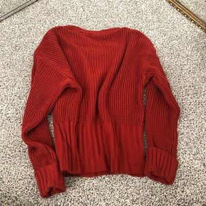 Nasty Gal Sweaters - nasty gal ribbed cuff sleeve sweater